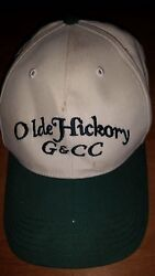 Ball Cap Hat from Estate Man Cave Collectible Golf Old Hickory G