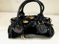 Chloé PaddingtonHandbag Black Authentic Women's Luxury Designer Fashion Bag