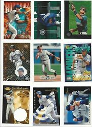 Alex Rodriguez Mariners 1994 - 2005 Pick The Ones You Need