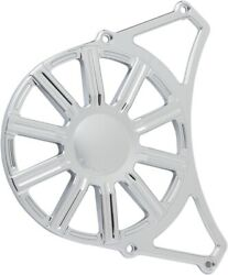 Arlen Ness Front Pulley Covers - Chrome 10 Gauge P-1165