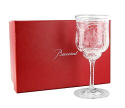 Baccarat Super Rare Hand Made Vallee Red Wine 3 Crystal Glass France New Box