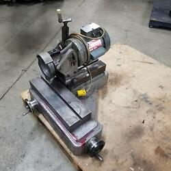 Cutter Master Inc. Fcg-30 End Mill Grinder/ Sharpener W/ Air Spindle - Used