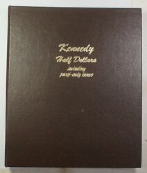 1964-97 Kennedy Half Dollar Complete Dansco Coin Album W/ Proof Only Issues 8166