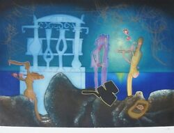 Roberto Matta 2 Am Land039arc Obscure Des Heures Etching/aquatint Hand Signed Obscur