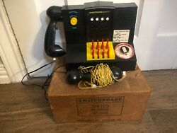 BRUMBERGER Early 1960's Vintage TELEPHONE SWITCHBOARD TOY Original Box