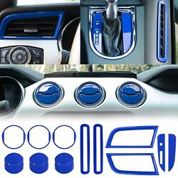 Inner Door & Air Conditioner Outlet Vent & Shift Gear Box Cover For Ford Mustang