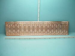 Miniature Copper Wainscoting Wm36050 World Model Spain 112th Scale
