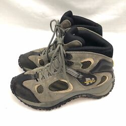 Merrell Womens Chameleon Ventilator Hiking Boots US 7 Gray Athletic Trail LaceUp
