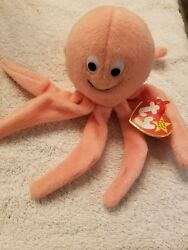 Ty Beanie Inky The Octopus - Original Beanies - Stocking Stuffer Free Shipping