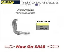 Yamaha Yzf R1 15 2015 16 2016 Exhaust Header Collectors Titanium Competition