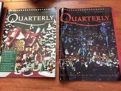 Department 56 Quarterly Editions X2 Reduced