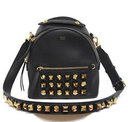 New $2900 Fendi XBoday Backpack Mix Studs Gold Edition Bag