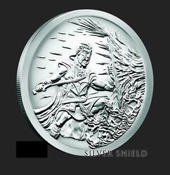 2017 2 Oz Crucible Proof Ag .999 Round Silver Shield Group Ssg Bullet 777