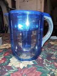 Blue Brita 10 Cup Water Pitcher with Filter -  and 10 pack of Brita Filters
