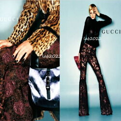 Gucci by Tom Ford 1999 Those Incredible Lace Re-Embroidered Tulle Pants