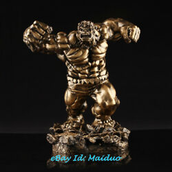 Red Hulk Figurine Resin Model Avenger Statue Collectible Gifts In Stock 14''h