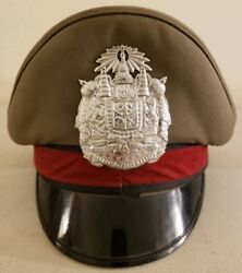 Vintage Thailand National Police And039thai Policeand039 Cap Hat