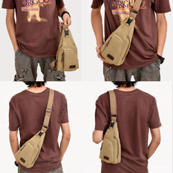30PCS Military Men's Canvas Crossbody Bag Casual Satchel Messenger Shoulder Bags