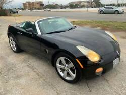 2006 Solstice 2dr Convertible 2006 Pontiac Solstice BLACK with 104012 Miles available now!