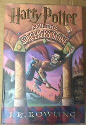 """Harry Potter """"sorcerer's Stone""""jk Rowlingfirst Edition,1st Mexican Print Rare"""