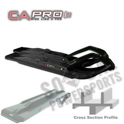 C&A PRO Extreme XT Snowmobile Skis BLACK Arctic Cat Panther 440 2-Up (1997)