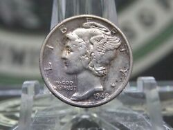 1942/1 P Mercury Silver Dime 10c 1 East Coast Coin And Collectables Inc