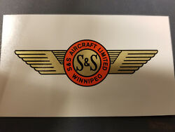 S And S Aircraft Propeller Water Slide Decal Set 1940s - 1950s Drone