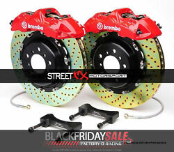 Brembo Gt Bbk 6pot Front For 2015+ Bmw M3 F80 And 2015+ Bmw M4 F82 1n1.9045a2
