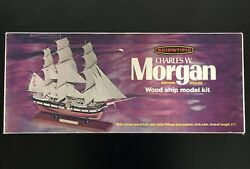 Charles W. Morgan Historic Whaler Kit Wooden Scientific 183 Never Used