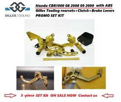 Honda Cbr1000 Abs 08 2008 09 2009 Gilles Tooling Rearsets+clutch+brake Levers