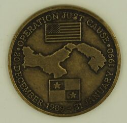 Operation Just Cause Veteran Invasion Of Panama Canal Zone Challenge Coin
