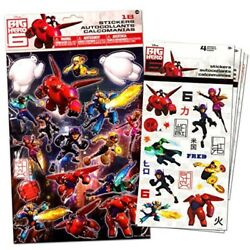Disney Big Hero 6 Stickers Party Favor Pack (Over 18 Stickers 6 Sheets)