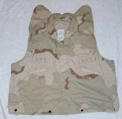Cover Pasgt Vest Camouflage Desert Camo Size L/xl Usgi Military Issue