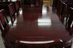 Solid Rosewood Dining Table 9pcSet 96