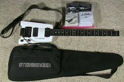 Steinberger GL7TA Custom One-Of-A-Kind Vintage USA Guitar $400.00 in Extras