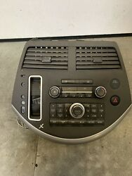 07 08 09 NISSAN QUEST AC HEATER TEMPERATURE CLIMATE CONTROL RADIO CONTROL PANEL
