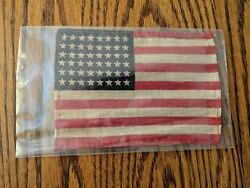 Original Wwii Us United States D-day Paratrooper Id Flag Insignia