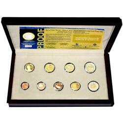 Greek Kms 2012 Pf 1 Cent - 2 Euro Commemorative Coin Case Certificate
