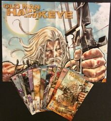 Old Man Hawkeye 1 - 12 Comic Books Complete 1st Printings Promo Poster Marvel