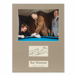 COLLECTION RAY WINSTONE AUTOGRAPH & PHOTOGRAPHS