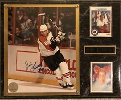 Eric Lindros Philadelphia Flyers Nhl Hockey Autographed Picture