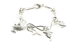 And Co. Women's Paloma Picasso Sterling Silver Charm Bracelet 650 New