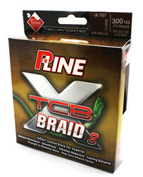 P-line Tcb 8 Teflon Coated 8 Carrier Braid Fishing Line 300 Yd Green Select Test