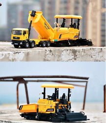 Dump Trucks And Pavers Model,132 Alloy Engineering Truck Toy Vehicles,metal