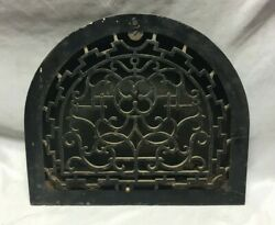 Antique Arched Top Heat Grate Grill Decorative Arch 11x13 171-19c