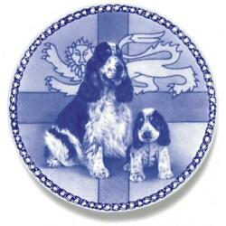 Cocker Spaniel - English - Dog Plate made in Denmark from the finest European Po