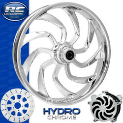 Rc Components Hydro Chrome Custom Motorcycle Wheel Harley Touring Bagger 21