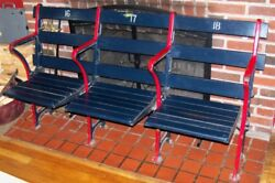 ⚾ FENWAY PARK TRIPLE SEAT Seats Green Monster Boston Red Sox Ted Williams 2018 ⚾