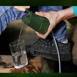 Water Filter System Camping Drinking Stage Reverse Emergency Survival Us Outdoor