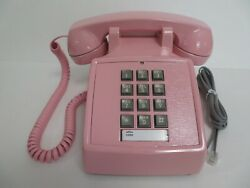 Antique Pink Western Electric 2500 Telephone Works Reconditioned